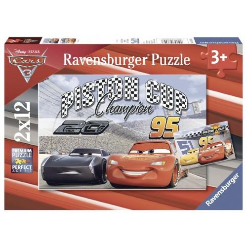 PUZZLES 2x12 PZS CARS - RAVENSBURGER 07609