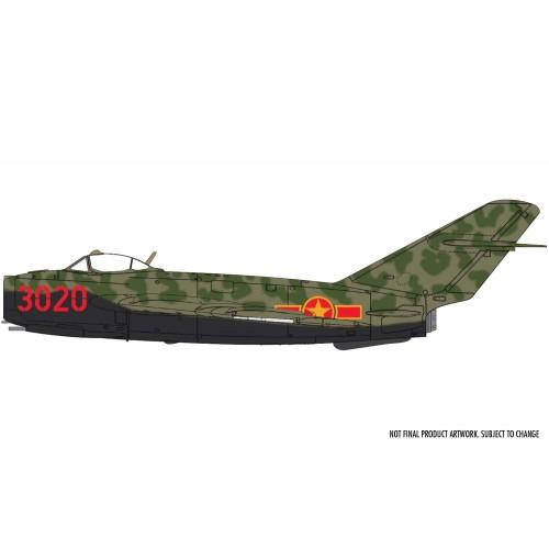 MIKOYAN GUREVICH MIG-17 F FRESCO (SHENYANG J-5) -Escala 1/72- Airfix A03091