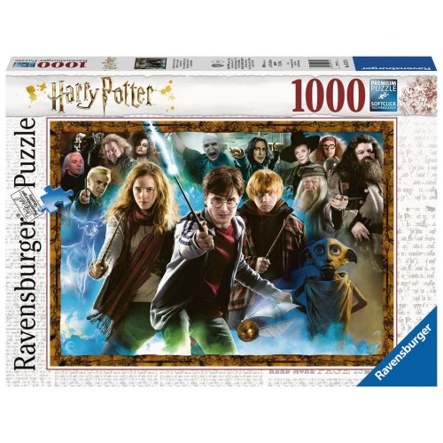 PUZZLE 1000 Pzas HARRY POTTER (500 x 700 mm) - Ravensburguer 15171