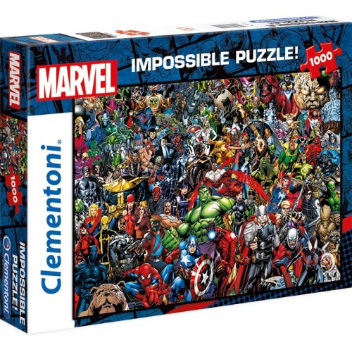 PUZZLE 1000 PZS MARVEL IMPOSSIBLE - CLEMENTONI 39411