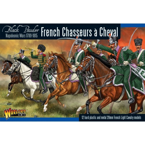 CAZADORES A CABALLO FRANCESES (12 Figuras) -1/56- Warlord Games FR12