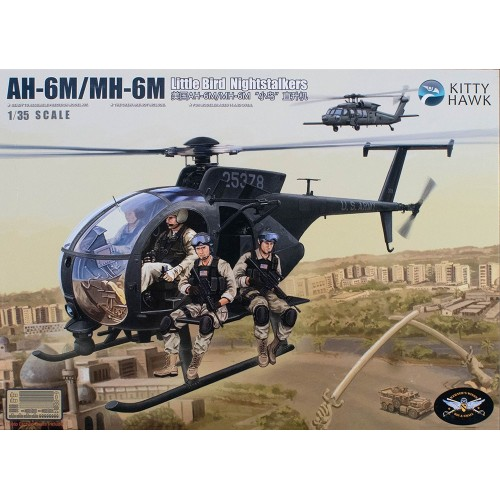 "HUGHES AH-6 M / MH-6M ""Little Bird"" -1/48- Kitty Hawk KH50002"