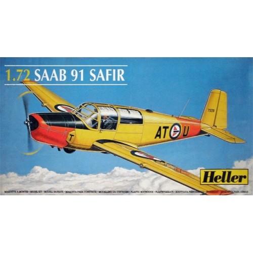 SAAB 91 SAFIR -Escala 1/72- Heller 80287