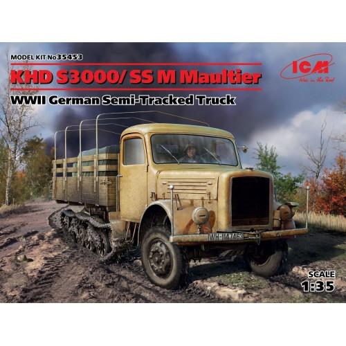 CAMION K.H.D. S3000/SS M MAULTIER -1/35- ICM 35453